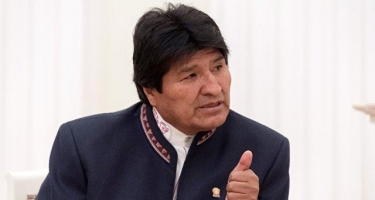 Boliviya prezidenti Evo Morales istefa etdiyini açıqlayıb