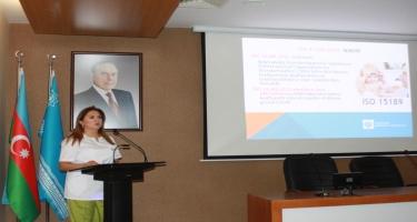 Tibbi laboratoriyanın İSO 15189:2012 standartı üzrə akkreditasiyasına həsr edilmiş təqdimatı keçirilib (FOTO)