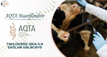"""AQTA maarifləndirir - """"Qida məhsullarında antibiotik təhlükəsi"""""""
