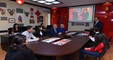 Dillər Universitetində Azərbaycan-Çin esse müsabiqəsinə yekun vurulub (FOTO)
