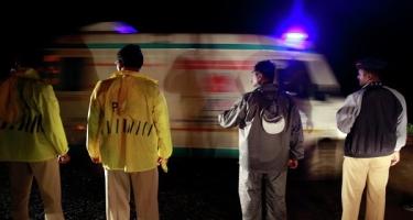 Hindistanda ağır yol qəzası: 7 ölü, 11 yaralı
