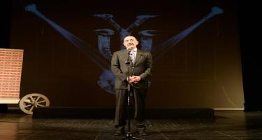 Yuğ Teatrının 30, Vaqif İbrahimoğlunun 70 illiyinə həsr olunmuş tədbir keçirilib (FOTO)
