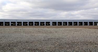 Müdafiə naziri cəbhəboyu zonada artilleriyaçıların döyüş hazırlığını yoxladı (FOTO/VİDEO)