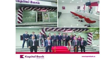 Kapital Bank yenilənən Cəlilabad filialını istifadəyə verib