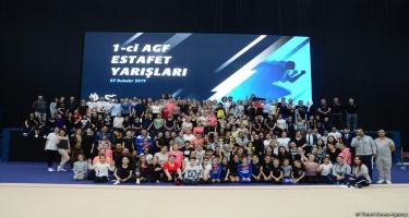 Azərbaycan Gimnastika Federasiyasının Birinci estafet yarışlarının qalibləri müəyyənləşib (FOTO)