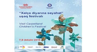 """""""Xalça diyarına səyahət"""" uşaq festivalı öz işinə başlayıb"""