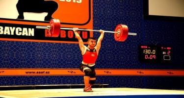 Elşən Məmmədov ağır atletika üzrə Avropa birinciliyinin ikiqat qalibi olub