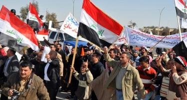 İraqda etirazlar zamanı saxlanılan 2,6 min insan sərbəst buraxılıb