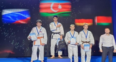 Cüdoçularımız beynəlxalq turnirdə 3 medal qazanıblar (FOTO)