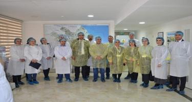 Beynəlxalq seminar iştirakçıları AQTİ laboratoriyaları ilə yaxından tanış olub (FOTO)