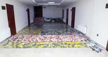 114 mindən artıq pirotexniki vasitə gömrükdən buraxılmadı (FOTO/VİDEO)