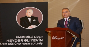 Ümummilli lider Heydər Əliyevin anım gününə həsr edilmiş elmi-praktik konfrans keçirilib (FOTO)