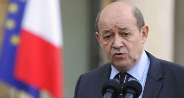 Fransa XİN rəhbəri Rusiya ilə dialoqun vacibliyindən danışıb