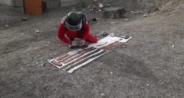 Qazaxda döyüş sursatları aşkarlanıb (FOTO)