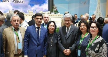 Mədəniyyət nazirinin müavini Aşqabadda MDB ölkələri elm və yaradıcı ziyalılarının forumunda iştirak edib (FOTO)