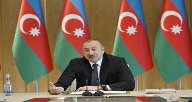 Azərbaycan Prezidenti: Əminəm ki, 2020-ci il də ölkəmiz üçün uğurlu olacaqdır