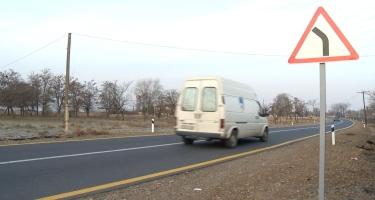 Şəmkirdə 3 istiqamət üzrə yol yenidən qurulub (FOTO)