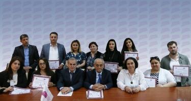 Dövlət Tərcümə Mərkəzinin sertifikatları sahiblərinə təqdim olunub (FOTO)