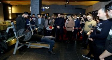 """""""CinemaPlus""""da dünya şöhrətli ağır atlet Naim Süleymanoğlu haqda film nümayiş olunub (FOTO/VİDEO)"""