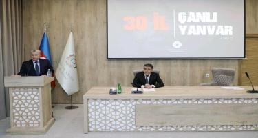 Azərbaycan Sənaye Korporasiyasında 20 Yanvar şəhidləri anıldı (FOTO)