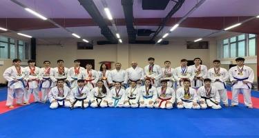 Yeniyetmə və gənc karateçilərimiz Xorvatiyada 10 medal qazandılar