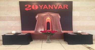 Heydər Əliyev Sarayında 20 Yanvar faciəsinin 30-cu ildönümü ilə qeyd edilib