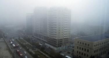 Sabah Azərbaycana duman çökəcək