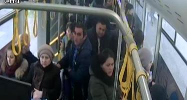 7 saylı avtobusda cibgirlik edənlər saxlanılıb (FOTO)