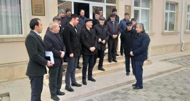 Deputatlığa namizəd Siyavuş Novruzovun seçicilərlə görüşü olub (FOTO)