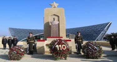 Həzi Aslanovun 110 illiyinə həsr olunan yubiley tədbirlərinə start verilib (FOTO)