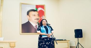 Pərvin Kərimzadə seçicilərini daha güclü Azərbaycan naminə səs verməyə çağırıb (FOTO/VİDEO)