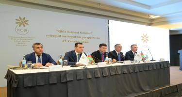 KOBİA yanında İctimai Şuranın forumu qida biznesinə həsr olunub (FOTO)