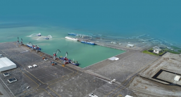 Bakı Limanı son 28 ilin rekordunu vurdu (FOTO)