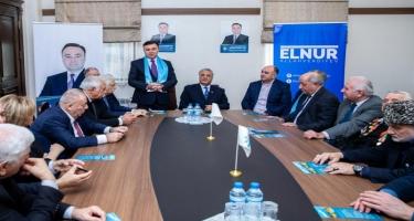 Yeni Azərbaycan Partiyasının deputatlığa namizədi Elnur Allahverdiyevin seçicilərlə görüşləri davam edir (FOTO)
