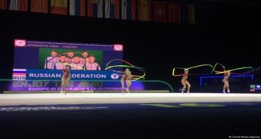 Rusiyalı gimnastlar Avropa çempionatında ikinci qızıl medalı qazanıblar