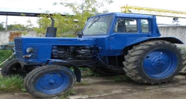 Ağcabədidə traktor piyadanı vurub