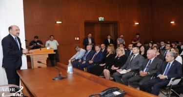 Mədəniyyət Nazirliyi ilə YAP arasında əməkdaşlığa dair birgə Fəaliyyət planı imzalanıb (FOTO)