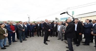 Azərbaycan Prezidenti: Pensiyaların, əməkhaqlarının, müavinətlərin artırılması gündəlikdə duran məsələlərdən biridir