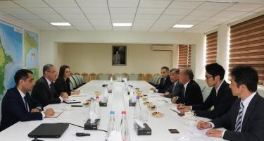 ETSN-də Yaponiya-Azərbaycan İqtisadi Komitəsinin sədri ilə görüş keçirilib