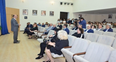 Dövlət Uşaq Filarmoniyası binasının əsaslı təmir və yenidənqurmadan sonra açılışı olub (FOTO)