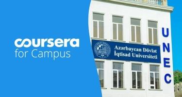 UNEC rektorundan yeni təşəbbüs: Coursera sertifikatı qazan, imtahandan azad ol
