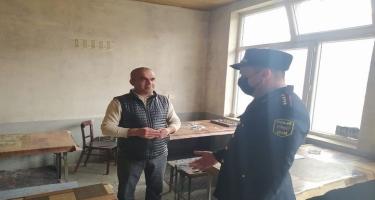 Şəkidə karantin rejimini pozan kafe aşkarlanıb (FOTO)