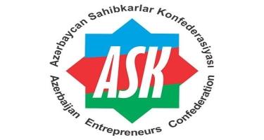 Azərbaycan Sahibkarlar Konfederasiyası təkliflərini hökumətə təqdim edib