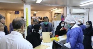 İranda daha 3 186 nəfər koronavirusa yoluxub