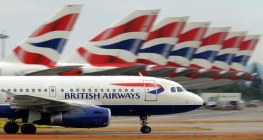 """""""British Airways"""" əməkdaşlarının 80 faizini ixtisar edəcək"""