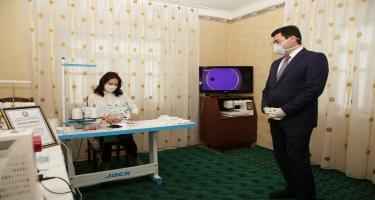 Koronavirus infeksiyasının qarşısının alınması məqsədilə Xaçmaz rayonunda tibbi-profilaktik tədbirlər davam etdirilir (FOTO)