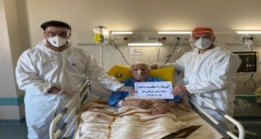 İranda 106 yaşlı kişi koronavirusdan sağalıb