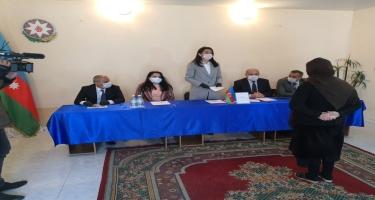 Ombudsman Səbinə Əliyeva əfv sərəncamının icrasında iştirak edib (FOTO)