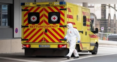 Almaniyada son sutkada koronavirusa 620 nəfər yoluxub