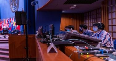 NRYTN-nin nümayəndəsi UNESCAP-ın onlayn iclasında iştirak edib (FOTO)